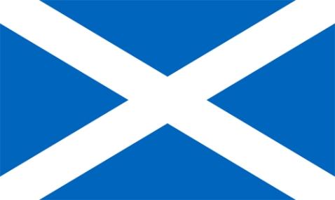 Szkocja flaga